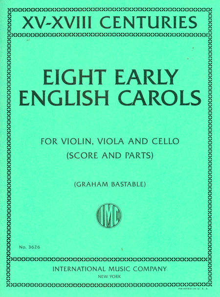 Eight Early English Carols