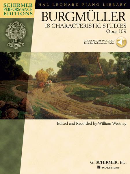 Johann Friedrich Burgmuller - 18 Characteristic Studies, Op. 109