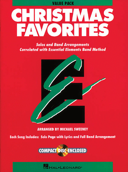 Essential Elements Christmas Favorites (Value Pak)