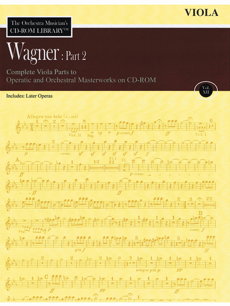 Wagner: Part 2 - Volume 12