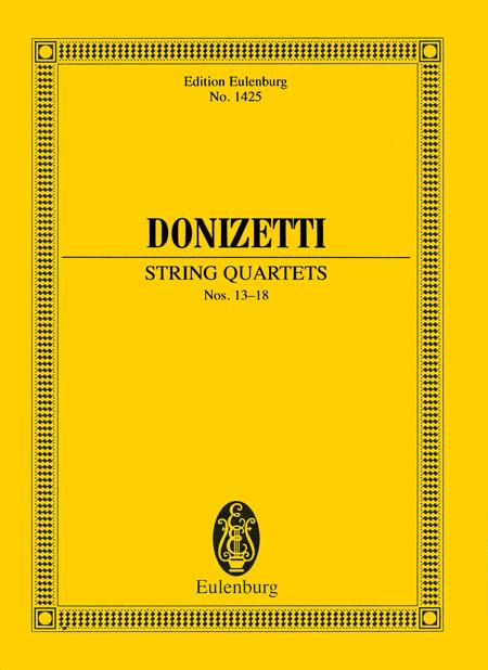 String Quartets Nos. 13-18