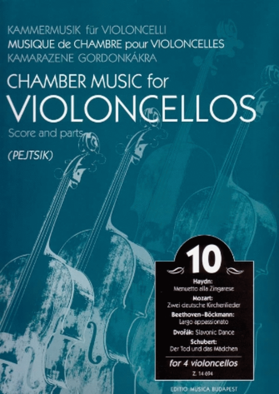 Chamber Music for Violoncellos, Vol. 10
