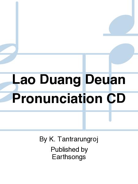 Lao Duang Deuan Pronunciation CD