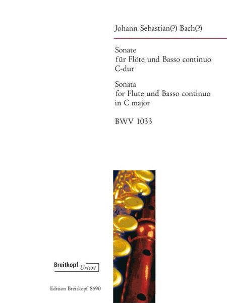 Sonate C-dur BWV 1033