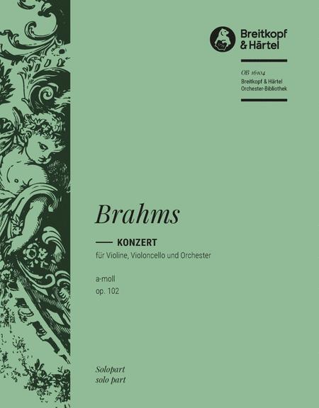 Konzert a-moll op. 102 (Doppelkonzert)