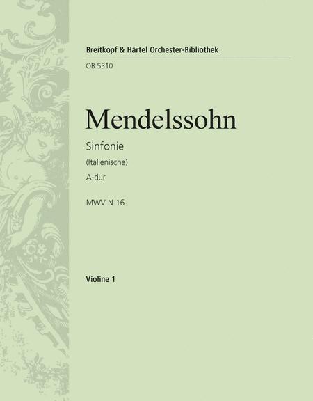 Symphonie Nr. 4 A-dur op.90, Italienische (1833)