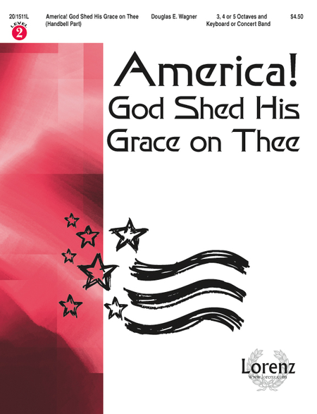 America! God Shed His Grace on Thee - Handbell Part