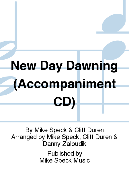 New Day Dawning (Accompaniment CD)