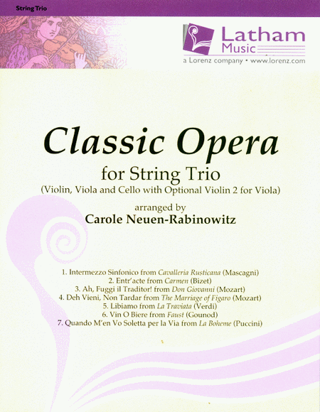 Classic Opera for String Trio