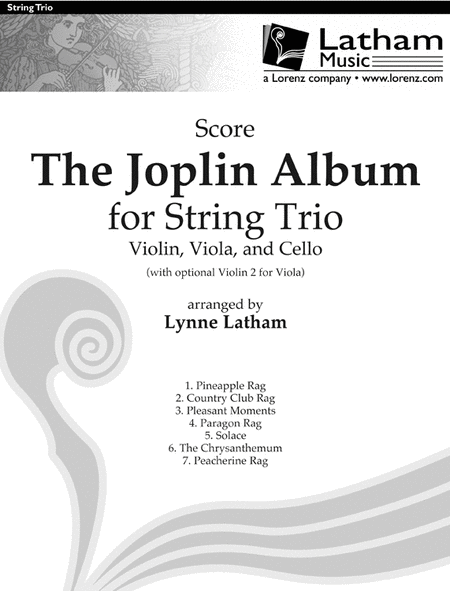 The Joplin Album for String Trio - Score
