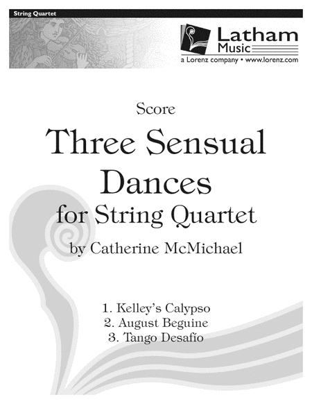 Three Sensual Dances for String Quartet - Score