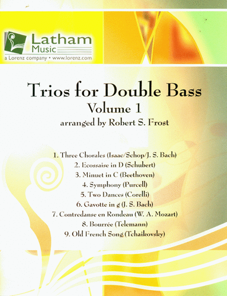 Trios for Double Bass, Vol. 1