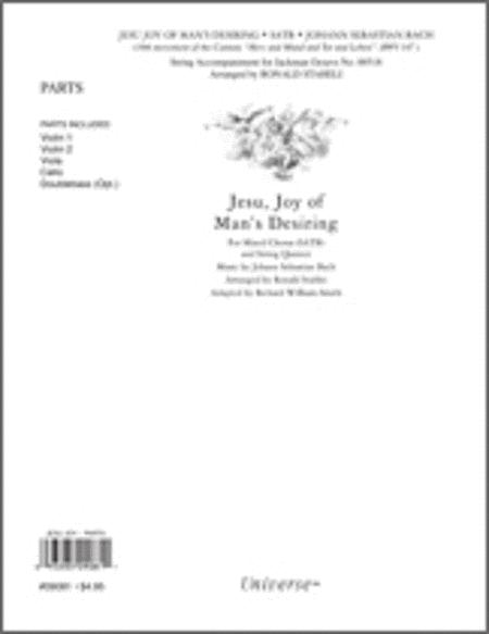 Jesu Joy of Man's Desiring - Instrumental Parts