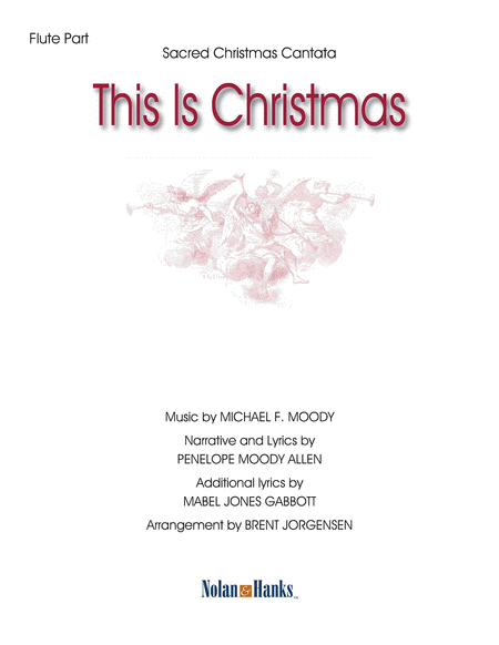 This Is Christmas - violin part