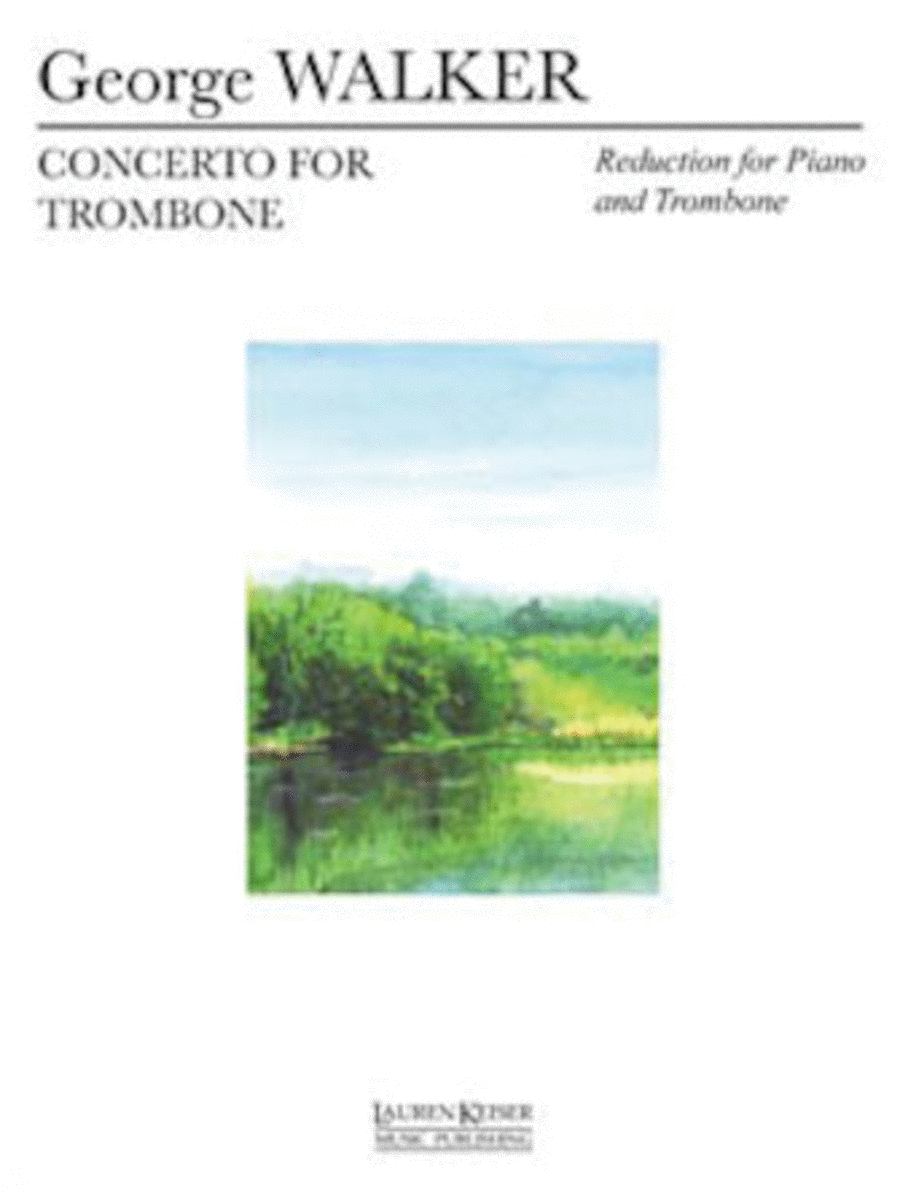 Concerto for Trombone and Orchestra (Piano Reduction)