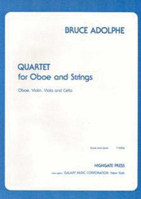 Quartet for Oboe & Strings