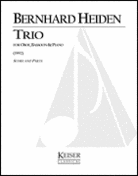 Trio for Oboe, Bassoon and Piano