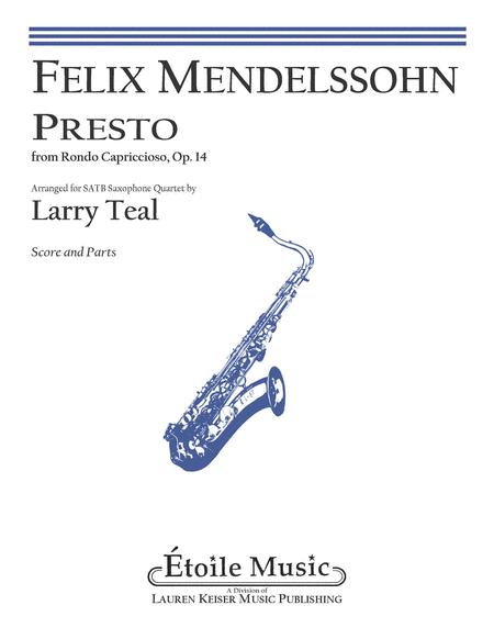 Presto from Rondo Capriccioso, Op. 14