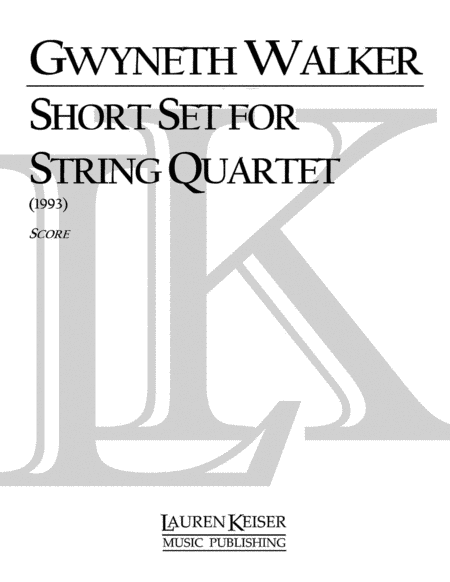 Short Set for String Quartet