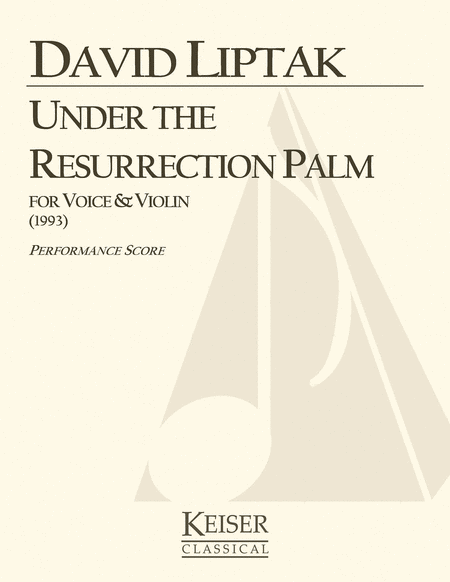 Under the Resurrection Palm