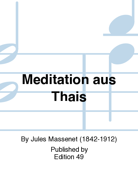 Meditation aus Thais