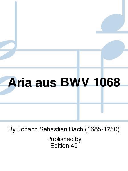 Aria aus BWV 1068