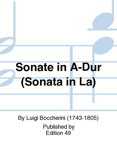 Sonate in A-Dur (Sonata in La)