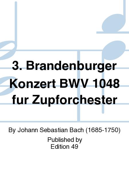 3. Brandenburger Konzert BWV 1048 fur Zupforchester
