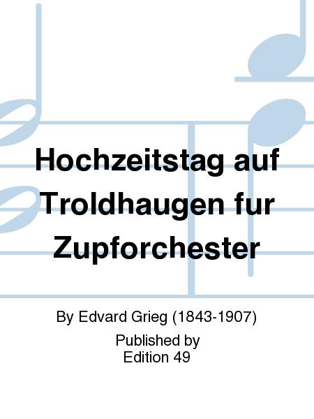 Hochzeitstag auf Troldhaugen fur Zupforchester