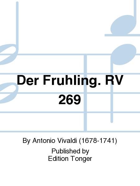 Der Fruhling. RV 269