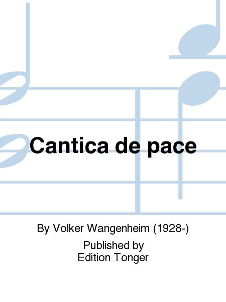 Cantica de pace