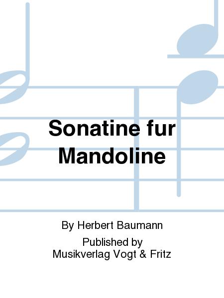 Sonatine fur Mandoline