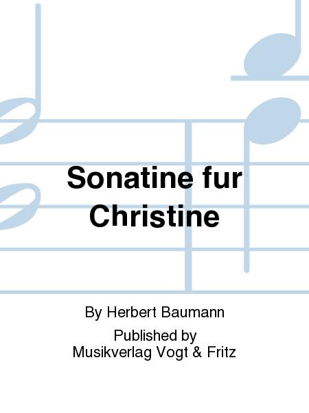 Sonatine fur Christine