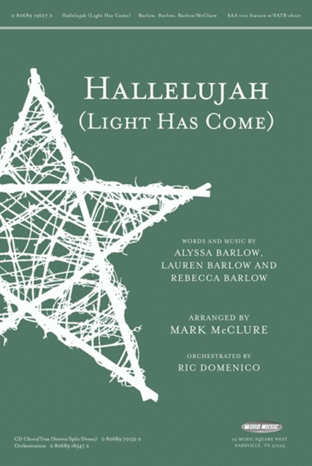 Hallelujah (Light Has Come)