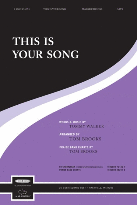This Is Your Song
