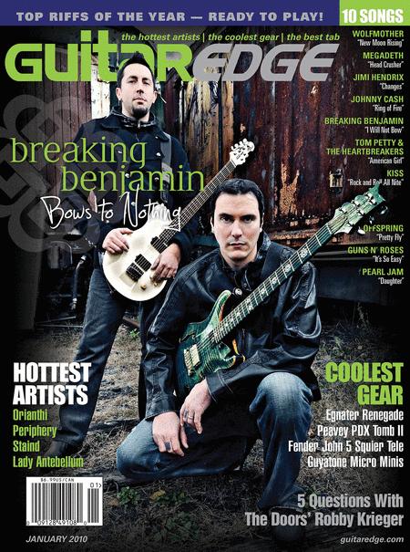 Guitar Edge Magazine Back Issue - January 2010