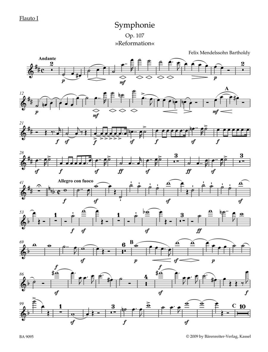 Symphony d minor op. 107 'Reformations-Symphony'