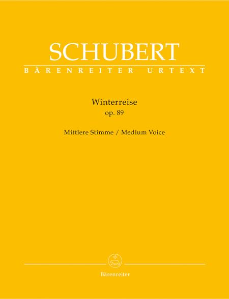 Winterreise, Op. 89 D 911
