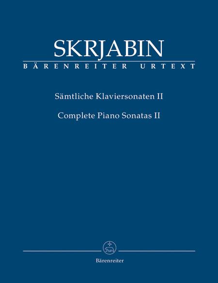 Samtliche Klaviersonaten, Band II