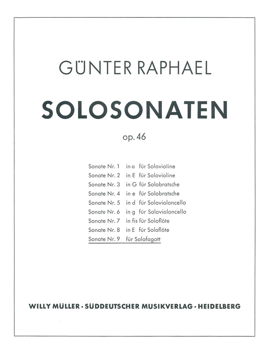Solosonate (1954), Op. 46/9
