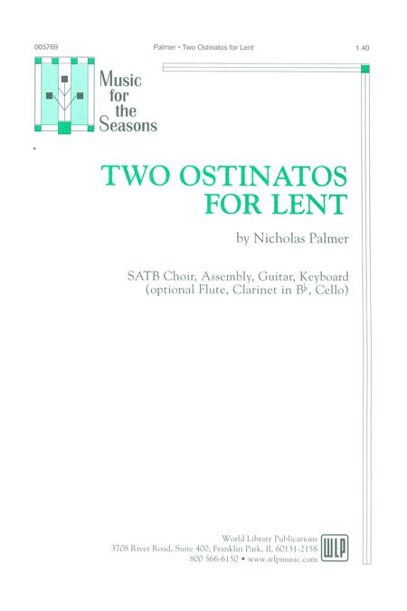 Two Ostinatos for Lent