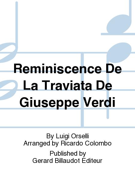 Reminiscence De La Traviata De Giuseppe Verdi