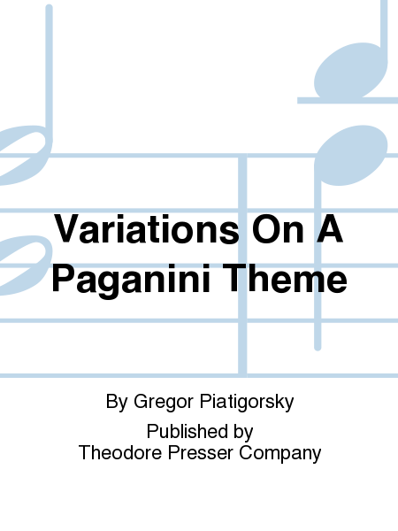 Variations On A Paganini Theme