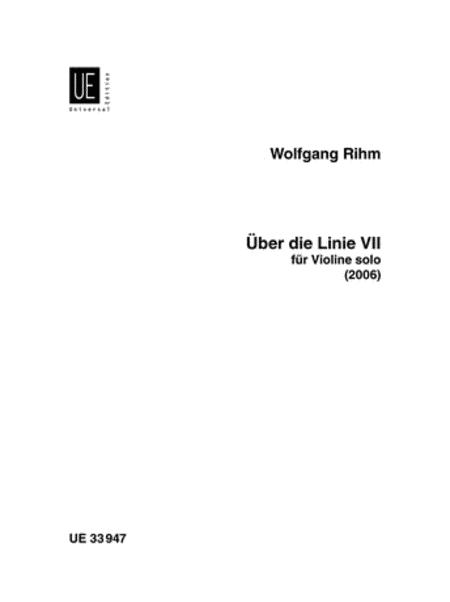Uber Die Linie VII