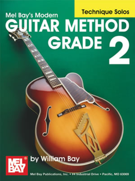 Modern Guitar Method Grade 2, Technique Solos