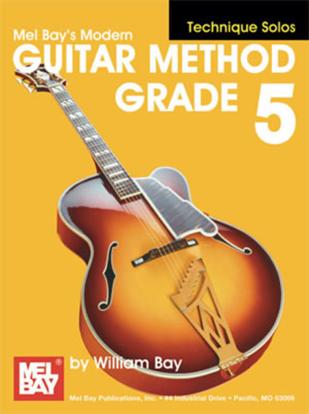 Modern Guitar Method Grade 5, Technique Solos
