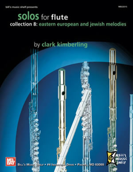 Solos for Flute, Collection 8: Eastern European & Jewish
