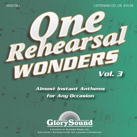 One Rehearsal Wonders, Volume 3