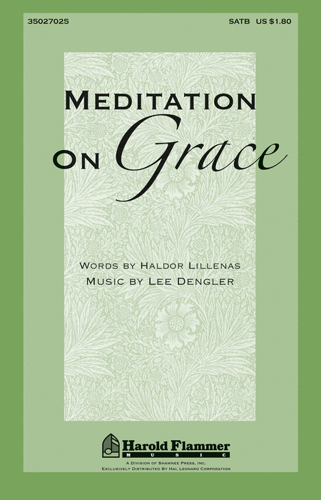 Meditation on Grace
