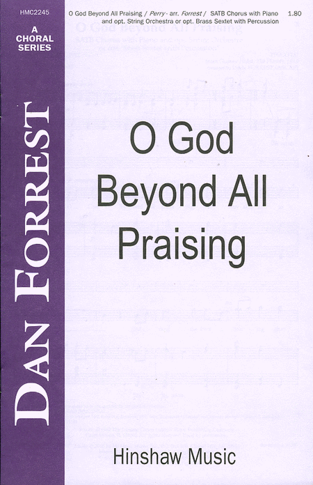 O God Beyond All Praising